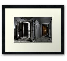 Door Out, Door In Framed Print