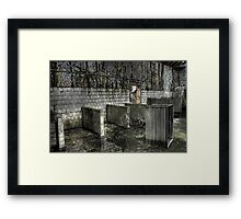 Laundry Rooms Framed Print