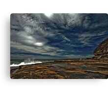 Beside The Sea Is Where I'll Be.... Canvas Print