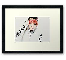 BTS Taehyung/V inspired Framed Print