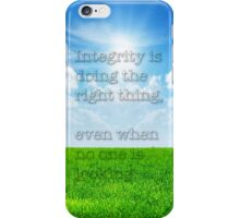 Integrity 2 iPhone Case/Skin