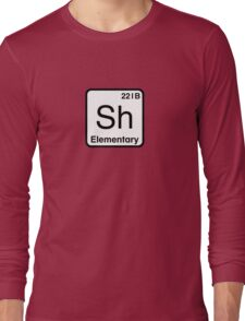 The Atomic Symbol for Detection  Long Sleeve T-Shirt