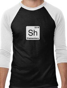 The Atomic Symbol for Detection  Men's Baseball ¾ T-Shirt