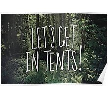 In Tents! Poster