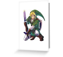Just... Link.  Greeting Card