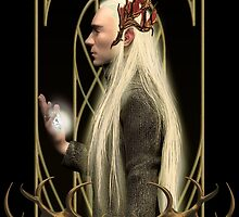 Thranduil and the Arkenstone by alice9
