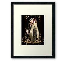 Thranduil and the Arkenstone Framed Print