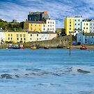 TENBY HARBOUR WALES UK by kfbphoto