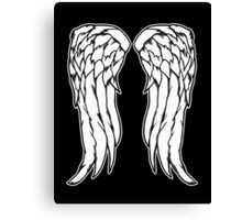 Daryl Dixon Angel Wings - The Walking Dead Canvas Print