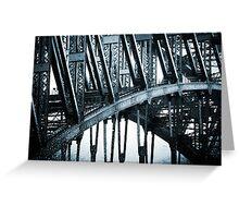 Big Blue Bridge Greeting Card