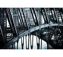Big Blue Bridge Photographic Print