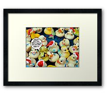 The Christmas Party Framed Print