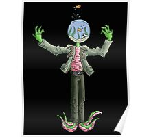 mr. fishbowl head Poster