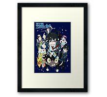 Blue Exorcist Gang Framed Print