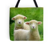The Red Bubble Definition of Cute! - Lambs - NZ Tote Bag