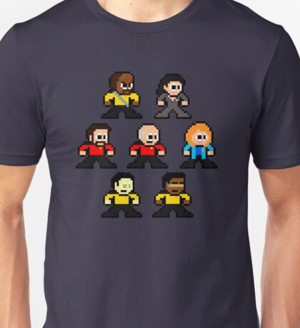 8-bit ST:TNG Unisex T-Shirt
