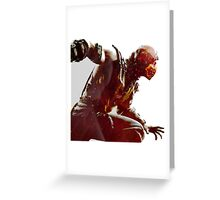Mortal Kombat x - Scorpio  Greeting Card