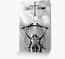 Crucifix Greeting Card