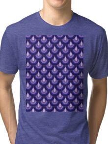 Pattern Retro Style Tri-blend T-Shirt
