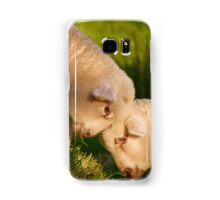 We Know We're Cute & Cuddly...!- Lambs - NZ Samsung Galaxy Case/Skin