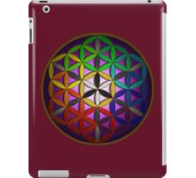 flower of life (spectral) iPad Case/Skin