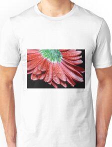Red Gerbera Flower Unisex T-Shirt
