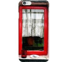 The Red Window iPhone Case/Skin
