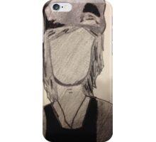 Kellin Quinn Outline Silhouette  iPhone Case/Skin