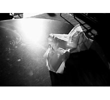 Napkin Photographic Print