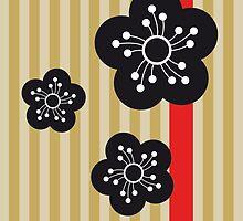 nihon japan blossom #1 by Tiffany Atkin