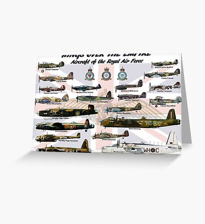 Wings over the Empire  Greeting Card