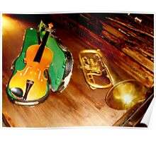 VIOLIN and TRUMPET Poster