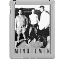 Minutemen - Light Shirts/Totes/Stickers/Pillows! iPad Case/Skin