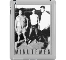 Minutemen - Light Shirts/Totes/Stickers/Pillows! iPad Case/Skin