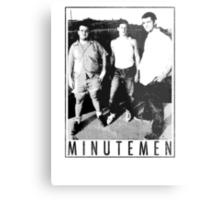 Minutemen - Light Shirts/Totes/Stickers/Pillows! Metal Print