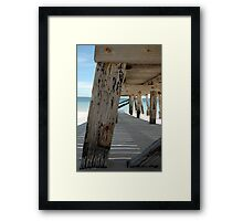 Normanville Jetty, SA Framed Print