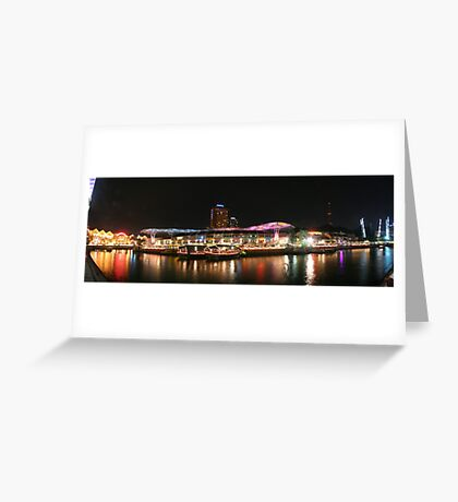 Melodies of Lights Greeting Card