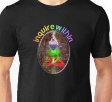 inquire within (rainbow meditation) Unisex T-Shirt