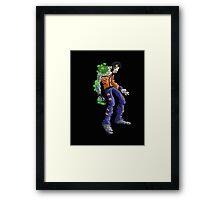 cyborg I: javier... Framed Print