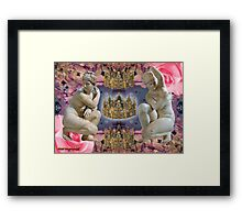 rEaChInG 2 tha HYP voyd. Framed Print