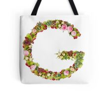 Capital Letter G Part of a set of letters, Numbers and symbols Tote Bag
