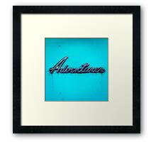 Adventurer. Framed Print