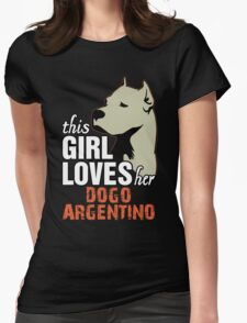 This Girl Loves Her Dogo Argentino T-Shirt