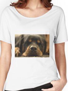 Sleeping dogs lie Women's Relaxed Fit T-Shirt