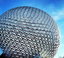 Disney's Epcot Spaceship Earth by shelbmcintyre