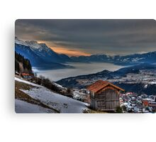 Blanket of Mist Canvas Print