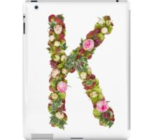 Capital Letter K Part of a set of letters, Numbers and symbols  iPad Case/Skin