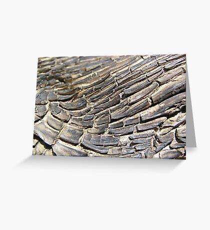 Timber Texture Greeting Card