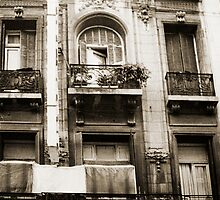 Balconies Lomo Argentina by Juilee  Pryor