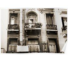 Balconies Lomo Argentina Poster